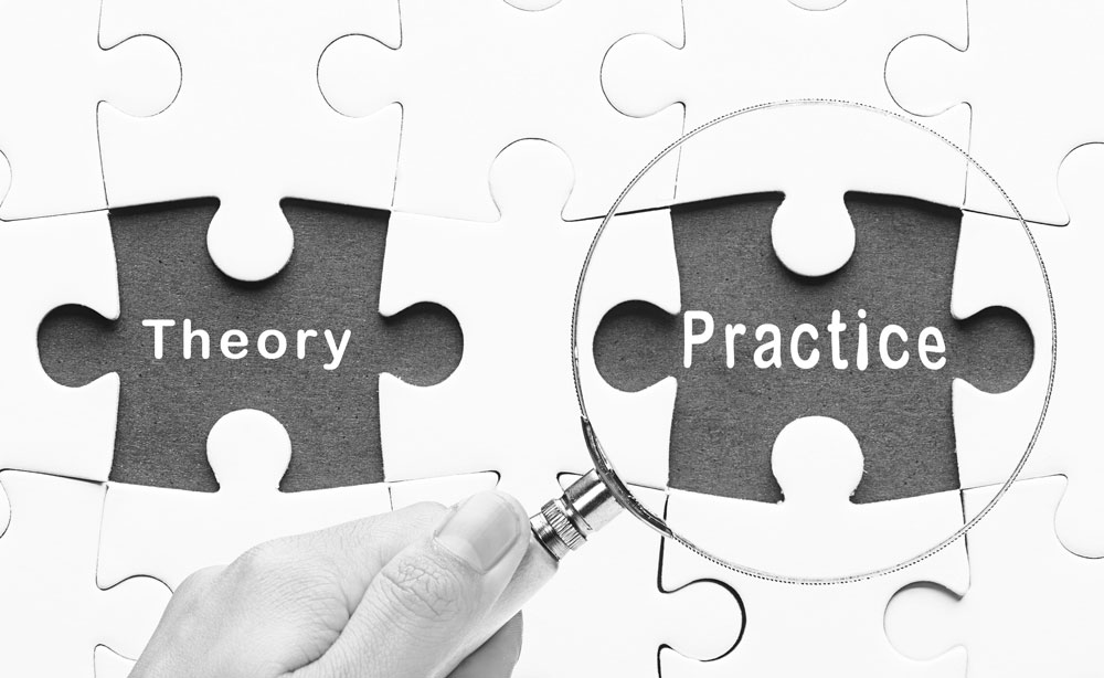 How to link theory to practice in an essay